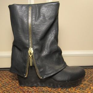 Slouchy Boots Mossimo 9